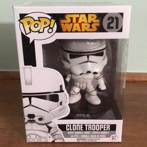 Funko Pop Star Wars Clone Trooper 2015 Vaulted